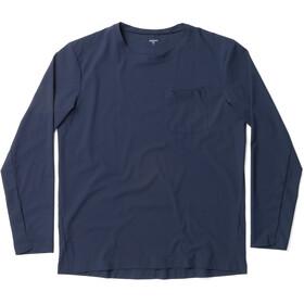 Houdini Cover T-shirt manches longues à col ras-du-cou Homme, blue illusion
